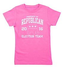 Republican Election Team 2016 Girl's Tee