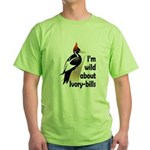 I'm Wild About IBWOs Green T-Shirt