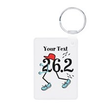 Personalized Runner 26.2 Keychains