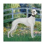 Bridge & Whippet Tile Coaster