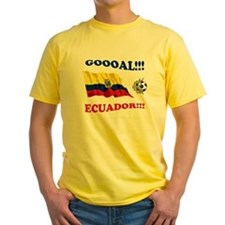 Cute Ecuadorian flag T