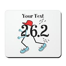 Customize Funny 26.2 Mousepad