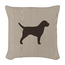 Border Terrier Woven Throw Pillow