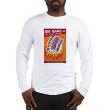 Big Bang Firecracker Label Long Sleeve T-Shirt