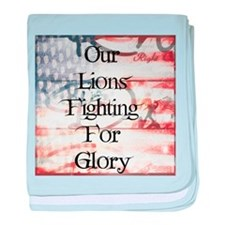 RightOn Lions baby blanket