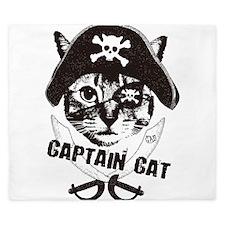 Captain Cat King Duvet