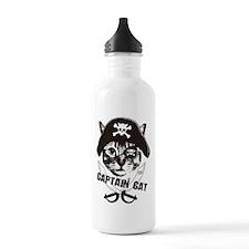 Captain Cat Water Bottle