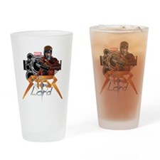 Star Lord Retro Drinking Glass