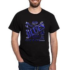 Blues on Blue T-Shirt