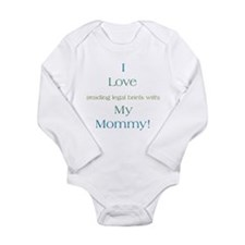 Cute Son law Long Sleeve Infant Bodysuit