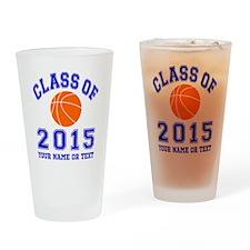 Class Of 2015 Basketball Drinking Glass