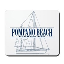 Pompano Beach - Mousepad