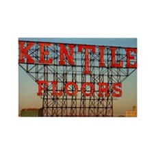 Kentile Floors Sign Rectangle Magnet