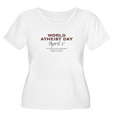 World Atheist Day - Women's +Size Scoop Neck TS