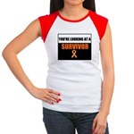 Leukemia Survivor Women's Cap Sleeve T-Shirt
