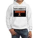 Leukemia Survivor Hooded Sweatshirt