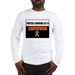 Leukemia Survivor Long Sleeve T-Shirt