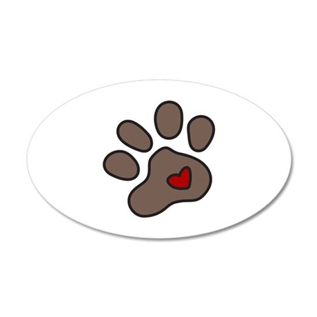 Puppy Paw Wall Decal