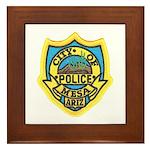 Mesa Police Framed Tile