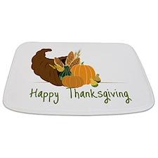 Happy Thanksgiving Bathmat