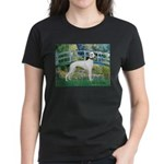 Bridge & Whippet Women's Dark T-Shirt