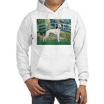 Bridge & Whippet Hooded Sweatshirt