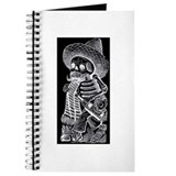 Calavera with Bottle - El Bor Journal
