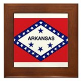 Arkansas Framed Tile