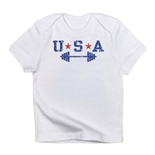 Cute Weightlifting Infant T-Shirt