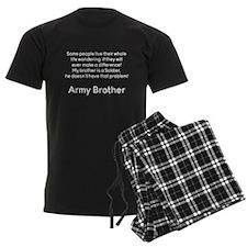 Army Brother No Problem Brother Pajamas