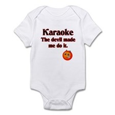 The devil made me do it. Infant Bodysuit