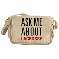 Lacrosse - Ask Me About - Messenger Bag