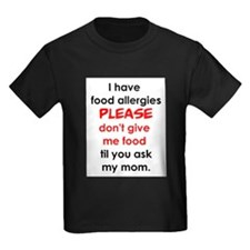 Funny Peanut allergy kids T