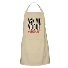 Musicology - Ask Me About - Apron
