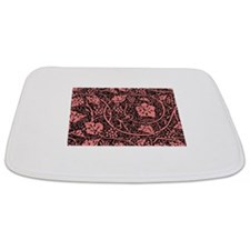 Vintage Floral Wallpaper Grape Pattern Bathmat