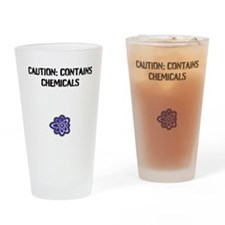 Cute Chemicals Drinking Glass