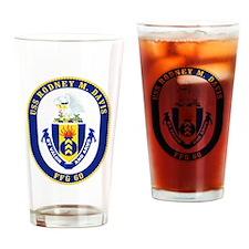 USS Rodney M. Davis FFG-60 Drinking Glass