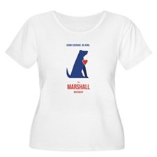 Marshall the Miracle Dog Plus Size T-Shirt
