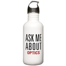 Optics - Ask Me About Sports Water Bottle