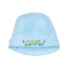Future swimmer baby hat