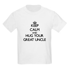 Keep Calm and Hug your Great Uncle T-Shirt