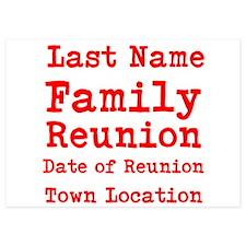 Family Reunion Invitations