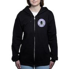 Fencing Logo Women's Zip Hoodie