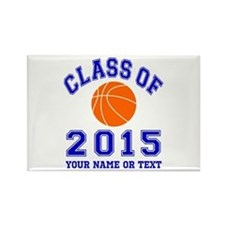 Class Of 2015 Basketball Rectangle Magnet
