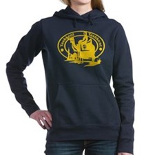 Tashkent Passport Stamp Women's Hooded Sweatshirt
