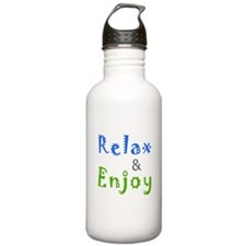 Relax and Enjoy Water Bottle