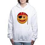 Pirate Smilie Women's Hooded Sweatshirt