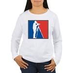 Major League Birder Women's Long Sleeve T-Shirt