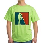 Major League Birder Green T-Shirt
