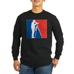 Major League Birder Long Sleeve Dark T-Shirt